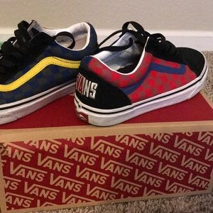 I'm selling some vans
